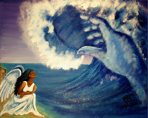 Humbled Under The Mighty Hand Of GOD Painting by Pamorama Jones ...