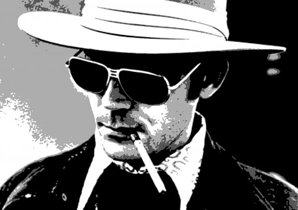 hunter s thompson. Hunter S Thompson Painting