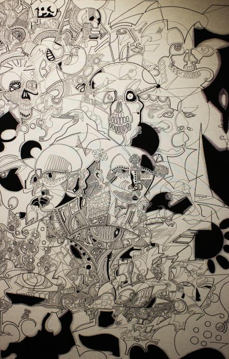 Inaccessible mental processes Drawing by Michael Kulick ...