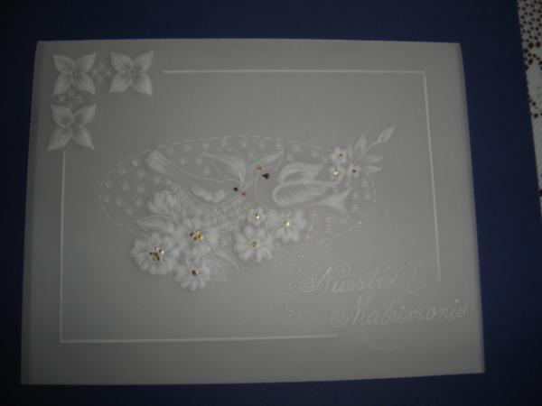 Invitation Wedding cards Drawing by Carmen Aldana