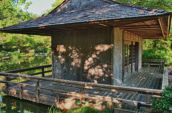 Japanese Teahouse Photograph  - Japanese Teahouse Fine Art Print