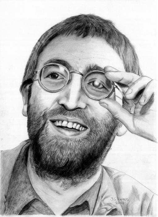 Stuff I Look Up Cool John Lennon Drawing