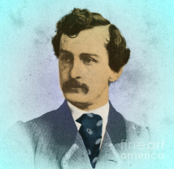 History Photograph - John Wilkes Booth, Assassin by Photo Researchers