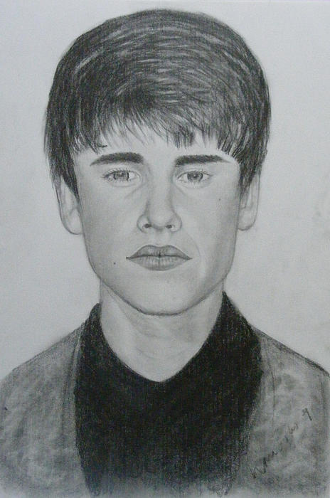Pictures Of Justin Bieber Drawings. Justin Bieber Drawing - Justin
