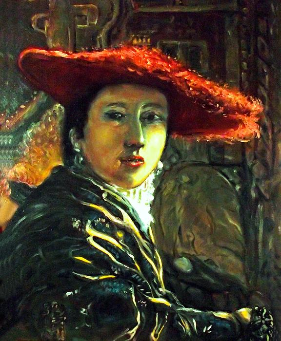 Patrick Raffaelo - Lady With A Red Hat