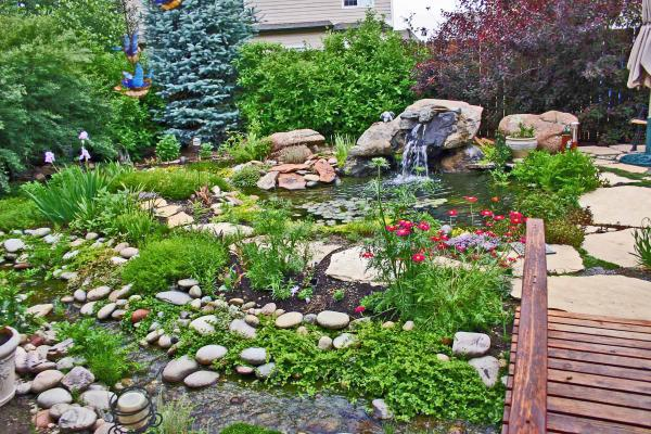 Garden Design With Backyard Garden With Bushes For Landscaping From  Plushomedesignideas.blogspot.ca