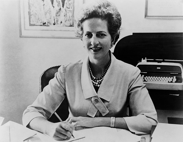 History Photograph - Letitia Baldrige, First Lady Jacqueline by Everett