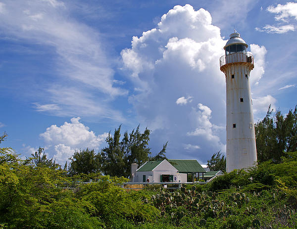 Richard Cox - Light House at Grand Turk