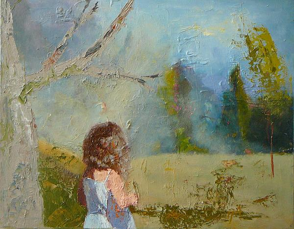 Irena  Jablonski - Little Girl and the Wood