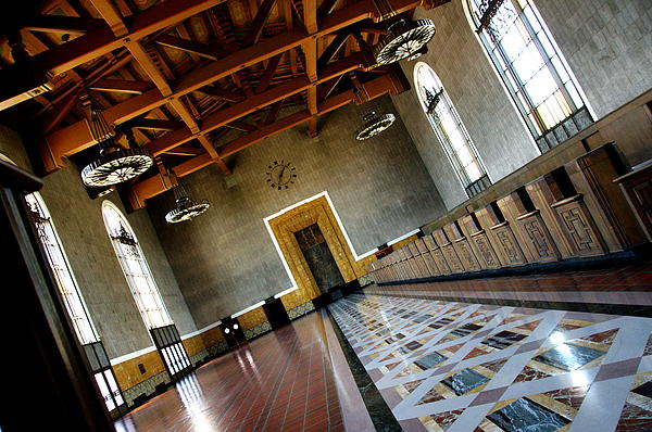 Los Angeles Union Station Terminal Photograph  - Los Angeles Union Station Terminal Fine Art Print