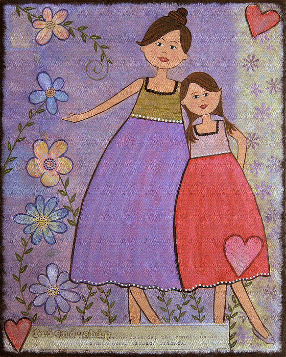 images of love and friendship. Love and Friendship Painting