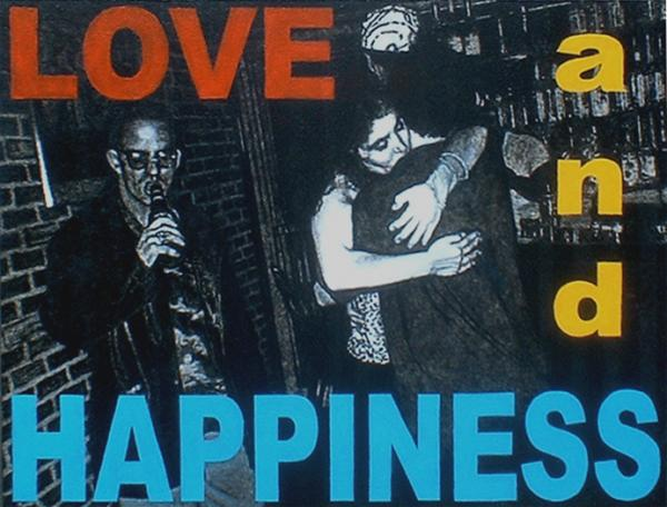 Love and Happiness Painting by Lou McAfee