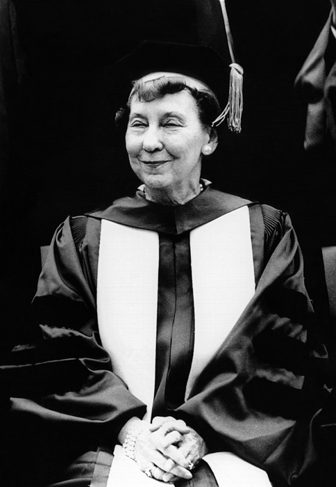 History Photograph - Mamie Eisenhower, Widow Of President by Everett