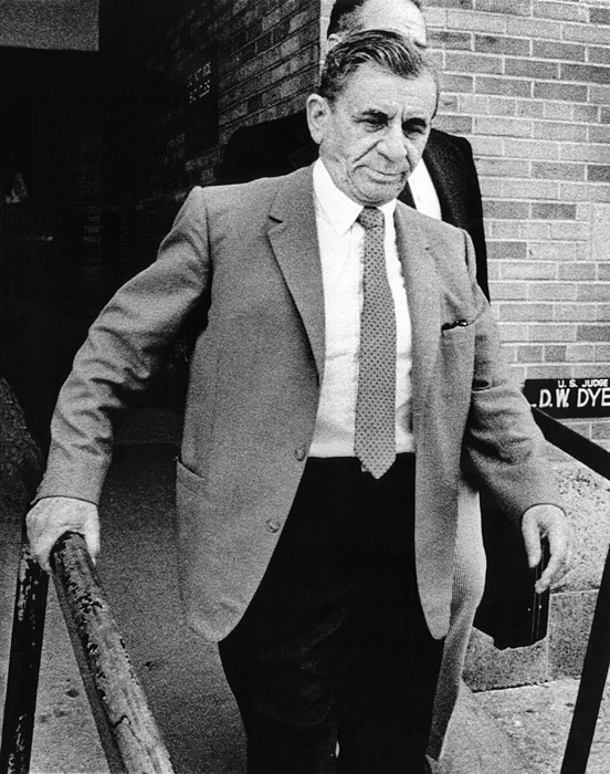History Photograph - Meyer Lansky Leaves Federal Court July by Everett