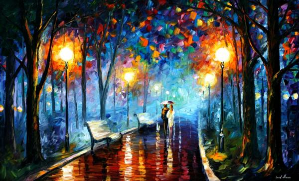 Leonid Afremov - Misty Mood