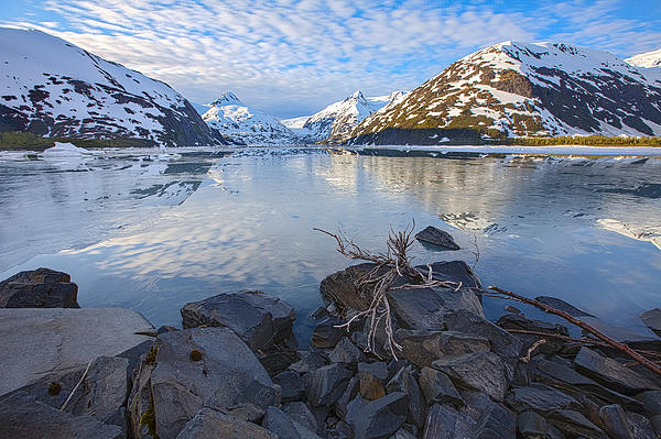 Tim Grams - Morning Light at Portage Lake