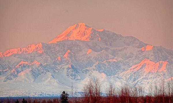 Sam Amato - Mt McKinley Sunset