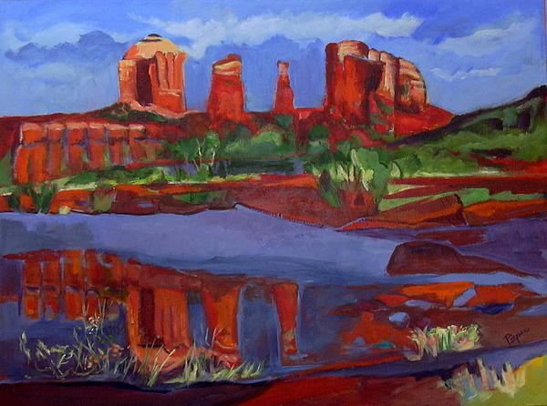 Betty Pieper - Near Sedona