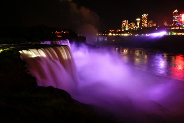 Night on Niagara Photograph - Night on Niagara Fine Art Print