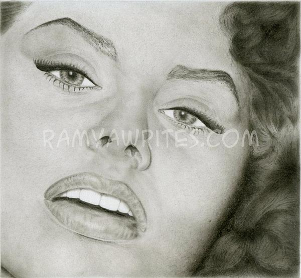 Ramya Sadasivam - Oil Portrait of Marilyn Manroe