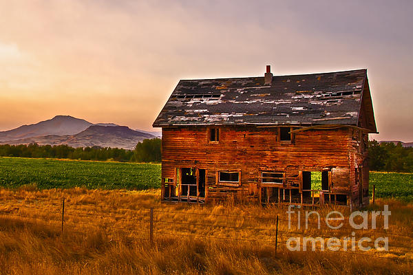 Robert Bales - Old Barn at Sunrise
