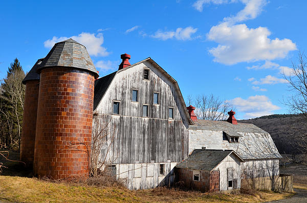Dave Sandt - Old Large white barn