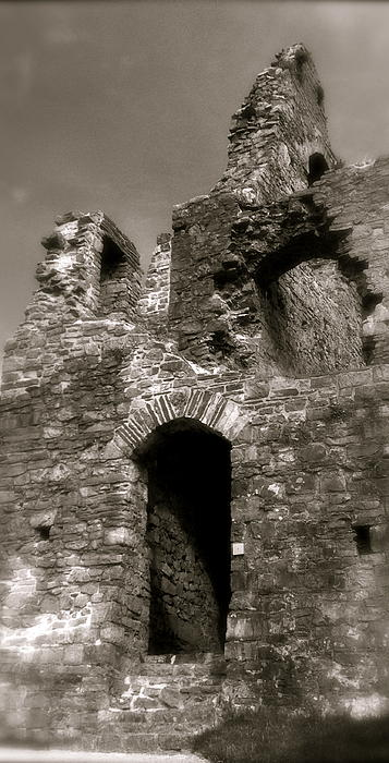 John Colley - Oystermouth Castle Ruins Detail