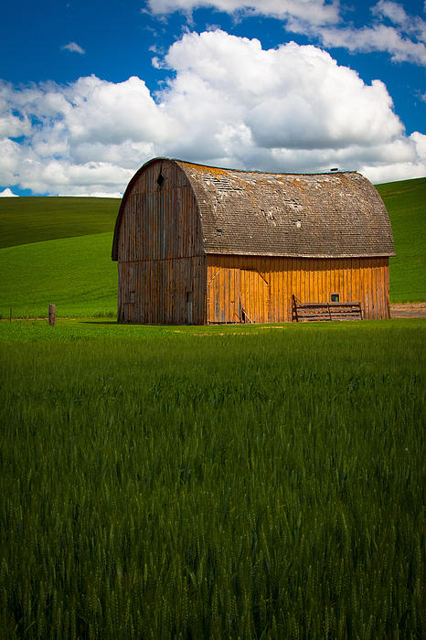 Inge Johnsson - Palouse Yellow Barn
