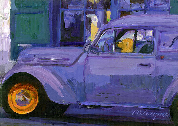 Parallel Parking Painting  - Parallel Parking Fine Art Print