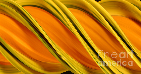 Design Photograph - Peripheral Streak Image Of Squash by Ted Kinsman