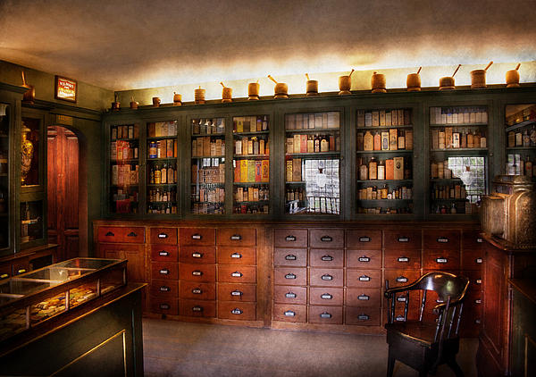Mike Savad - Pharmacy - The Apothecary Shop