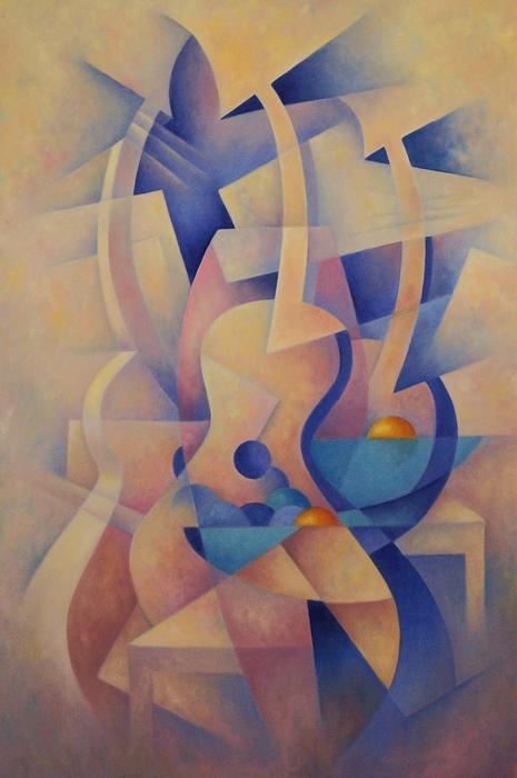 Poetry And Music Painting by Donald Wendland - Poetry And Music ...