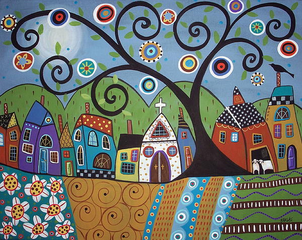 Karla Gerard - Polkadot Church