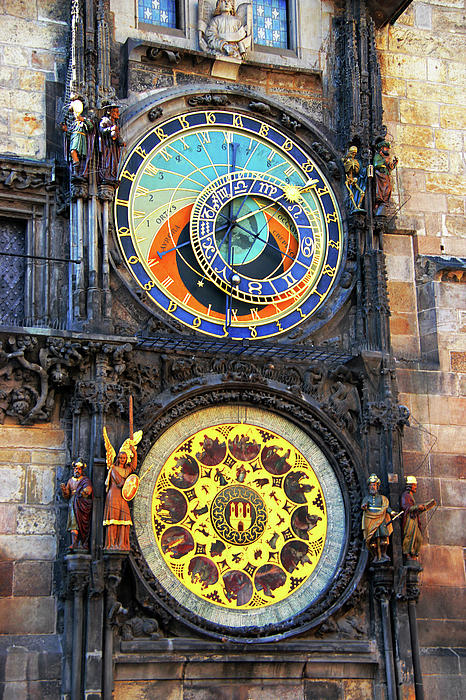 Prague Astronomical Clock 2 Photograph  - Prague Astronomical Clock 2 Fine Art Print