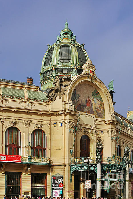 Christine Till - Prague Obecni dum - Municipal House
