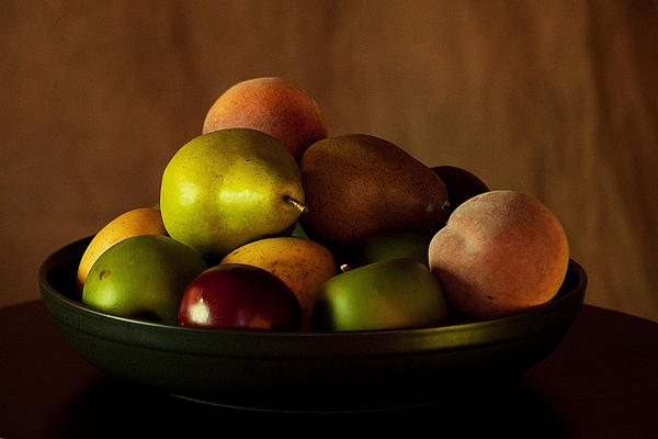 Precious Fruit Bowl Photograph by Sherry Hallemeier - Precious ...