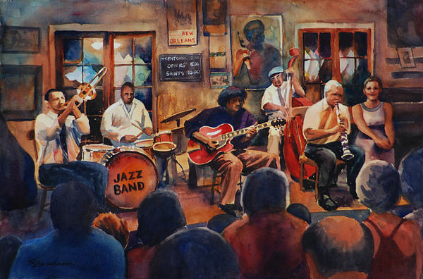 Sue Zimmermann - Preservation Hall Jazz Band