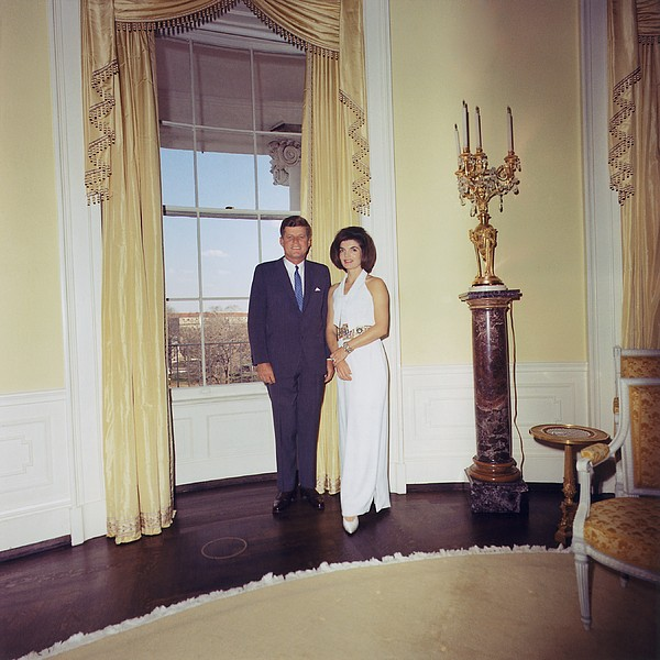 History Photograph - President And Jacqueline Kennedy by Everett