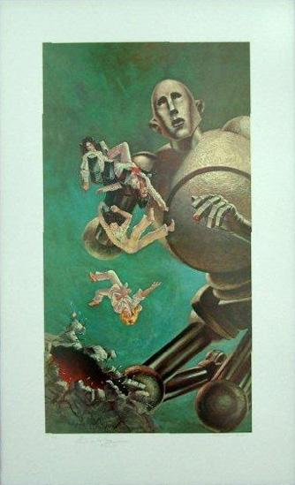 What was your favorite Robot? - Page 3 - Classic Horror ... Queen News Of The World Cover Art
