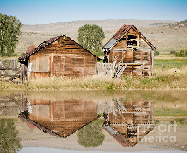 Donna Van Vlack - Reflection of an Old Building