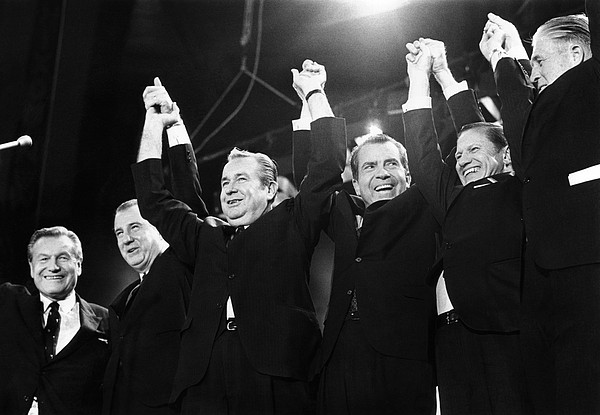 History Photograph - Republicans Display Unity by Everett