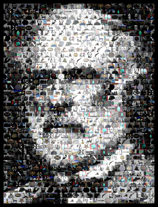 Paul Van Scott - Robert E Lee Mosaic