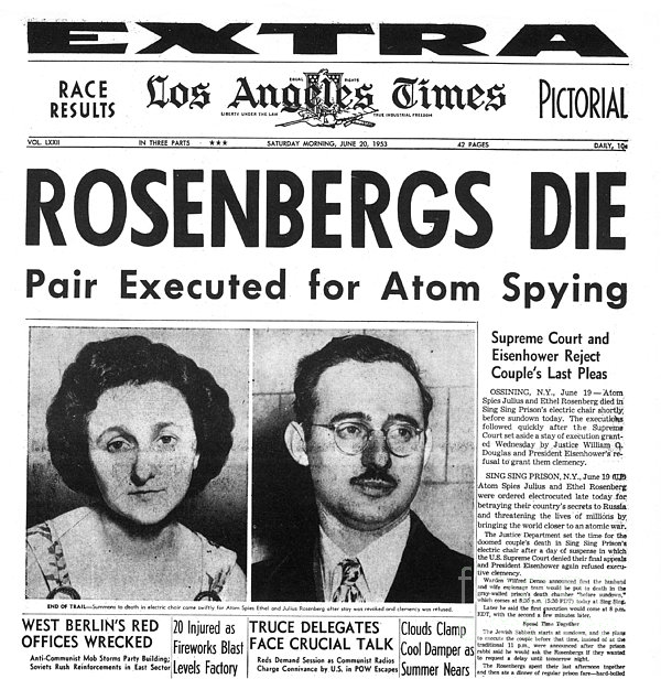 Rosenbergs+execution+photos
