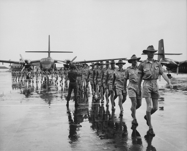 History Photograph - Royal Australian Air Force Arrives by Everett