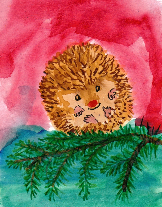 http://fineartamerica.com/images-medium/rudolph-the-red-nosed-hedgehog-kerry-hartjen.jpg