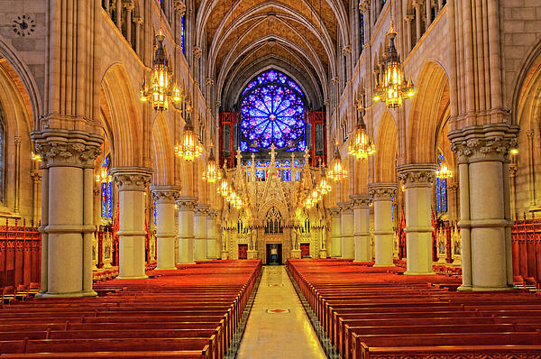 Sacred Heart Cathedral Photograph  - Sacred Heart Cathedral Fine Art Print