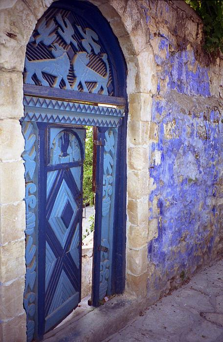 Arlene Carmel - Safed Door