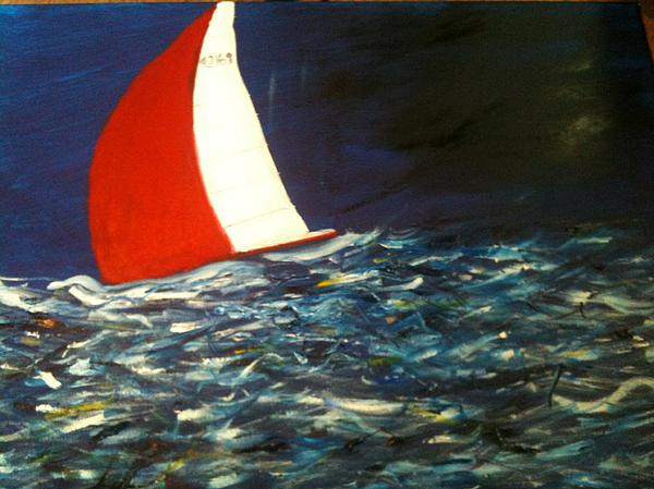 Shawn Hughes - Sailing Against the Storm