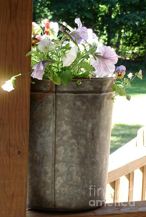 Kerri Mortenson - Sap Bucket Planter