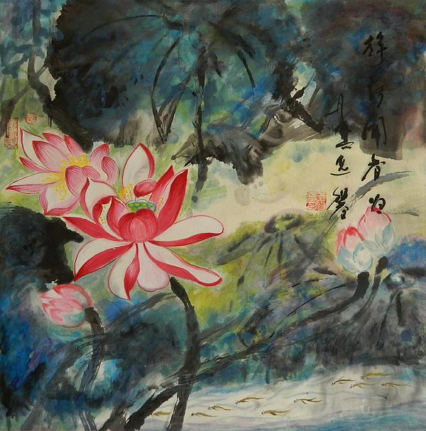 Min Wang - Scented Pond